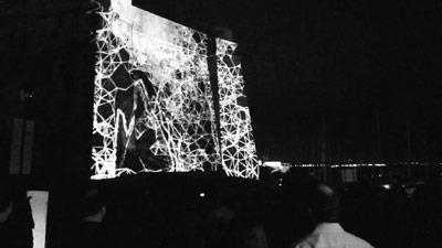 WIDE/SIDE (João Martinho Moura, 2015). Exhibition at Lumina Festival. Citadel of Cascais, Portugal (September 2015)