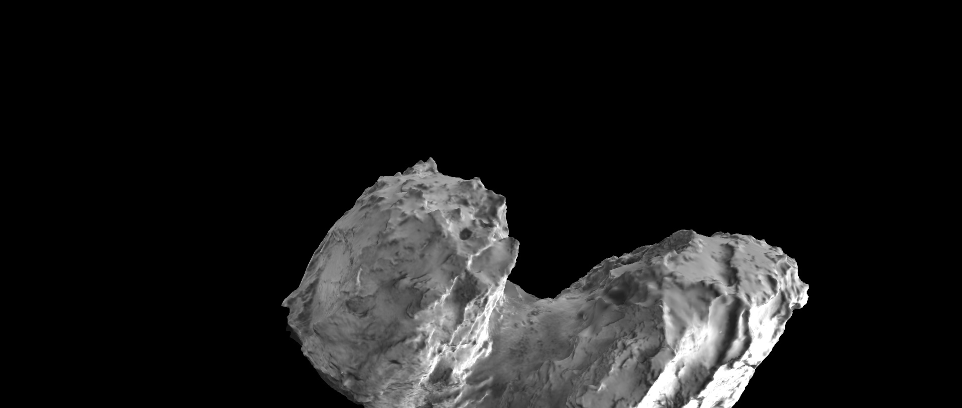 "Interactive data visualization project: ""View Rosetta's comet"" Developed for the European Space Agency. João Martinho Moura (2015)"