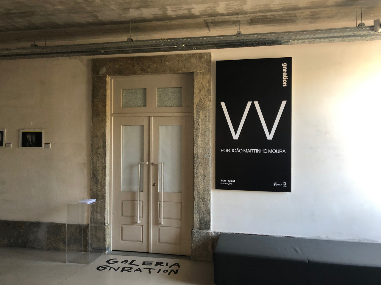 VV (João Martinho Moura. 2018) exhibition at gnration gallery, Braga-media-arts