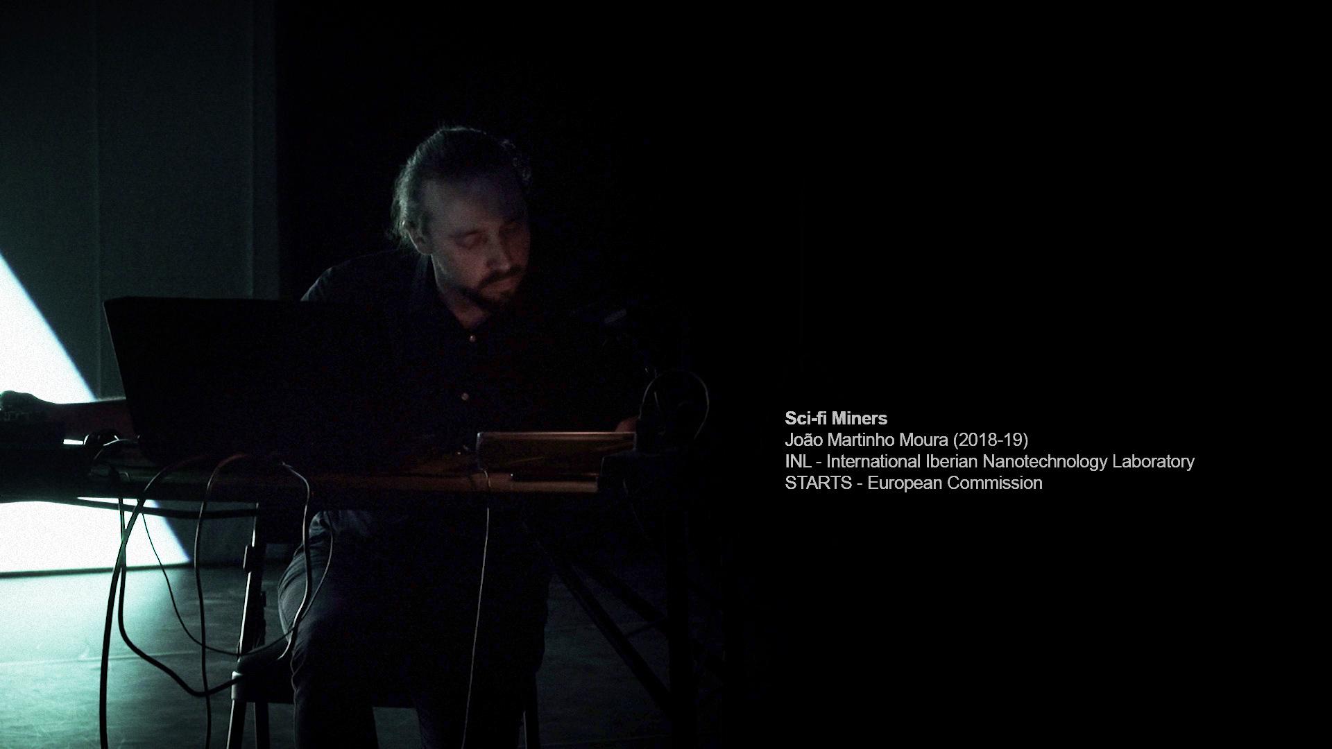 Performance in Virtual Reality, João Martinho Moura