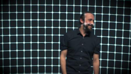 João Martinho Moura. STARTS. Picture of his performance at Le Centquatre, in Paris. 2020. Picture: Année Zéro