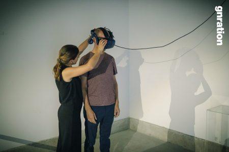 VV, Embodiment in Virtual Reality. Braga Media Arts. gnration gallery. João Martinho Moura, 2018