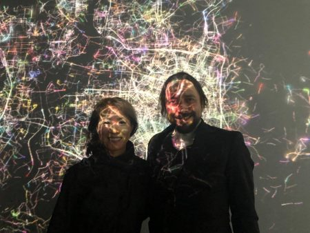 At ISEA in South Korea with Haru Ji